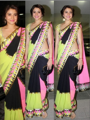 Celebrities in saree