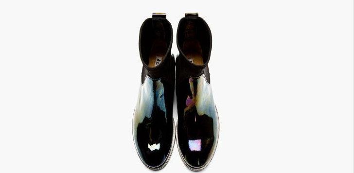 types of Black shoes Acne Studio
