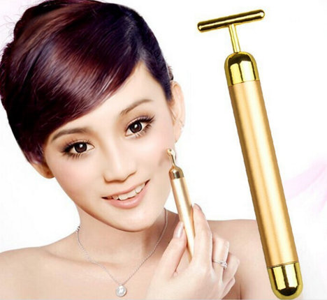 Face Massager Facial Roller Serum Massage Derma Skincare Wrinkle Treatment Energy