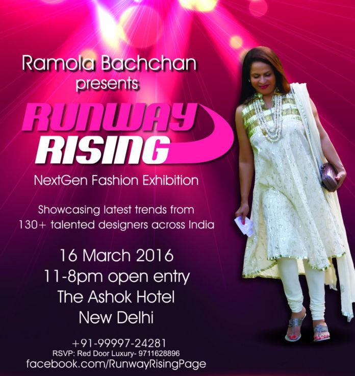 RUNWAY RISING BY RAMOLA BACHCHAN- 12th EDITION
