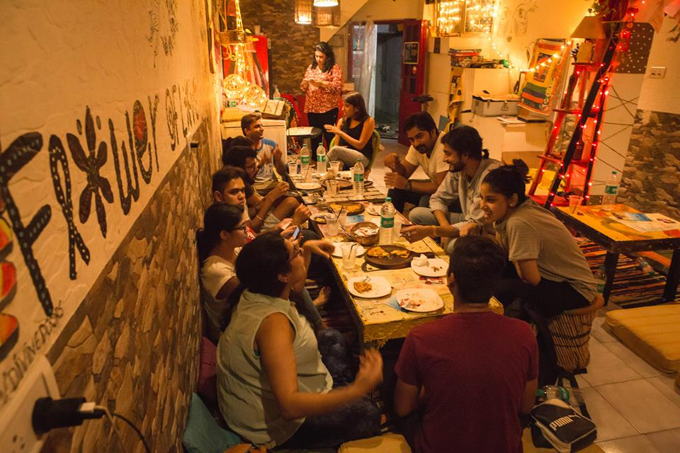 Pre-departure dinner at @TheHippie Trail HKV, PC- @WanderDa