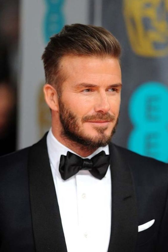 Men Celebrity Beard Style