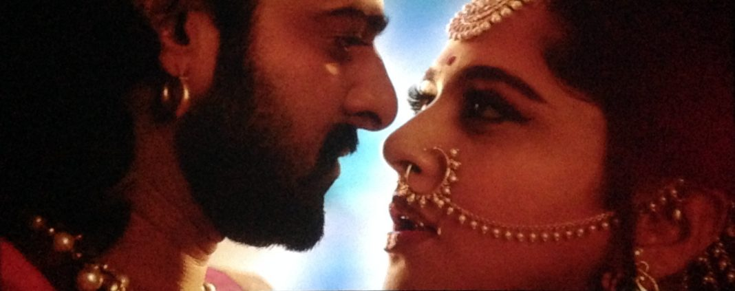 Anushka and Prabhas in Bahubali 2
