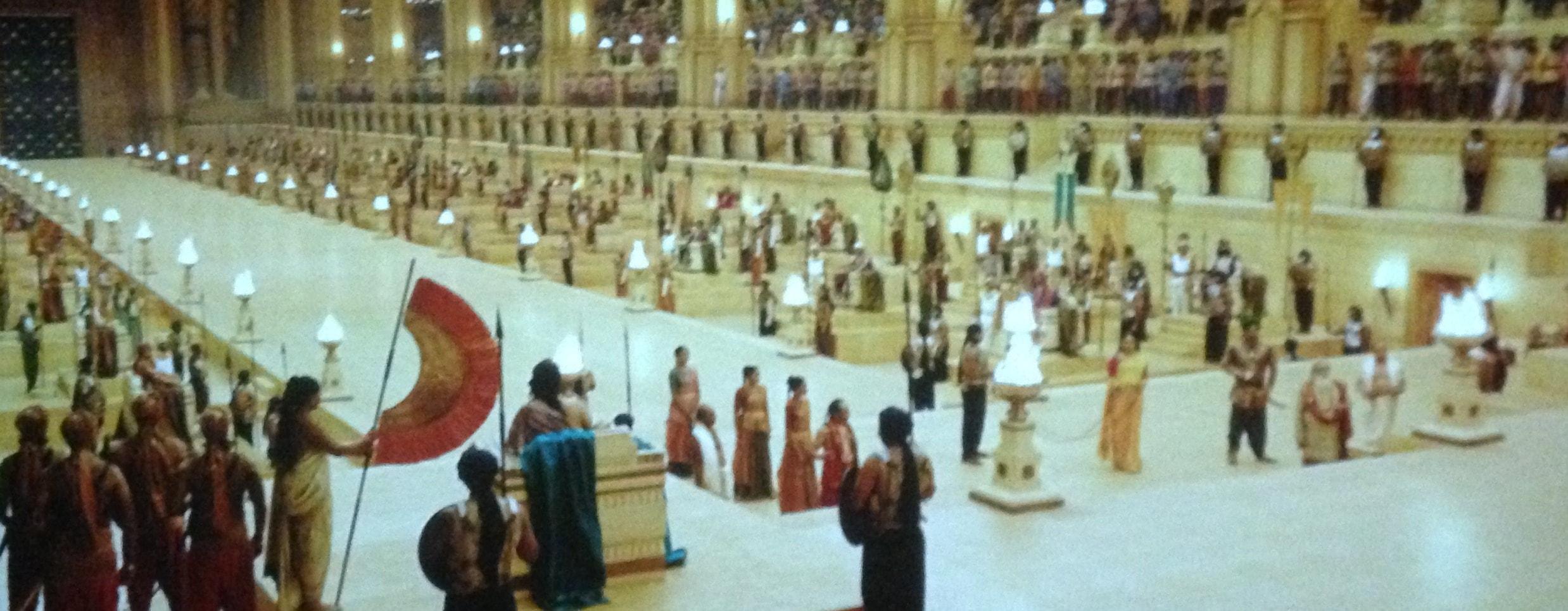 Bahubali palace Sets