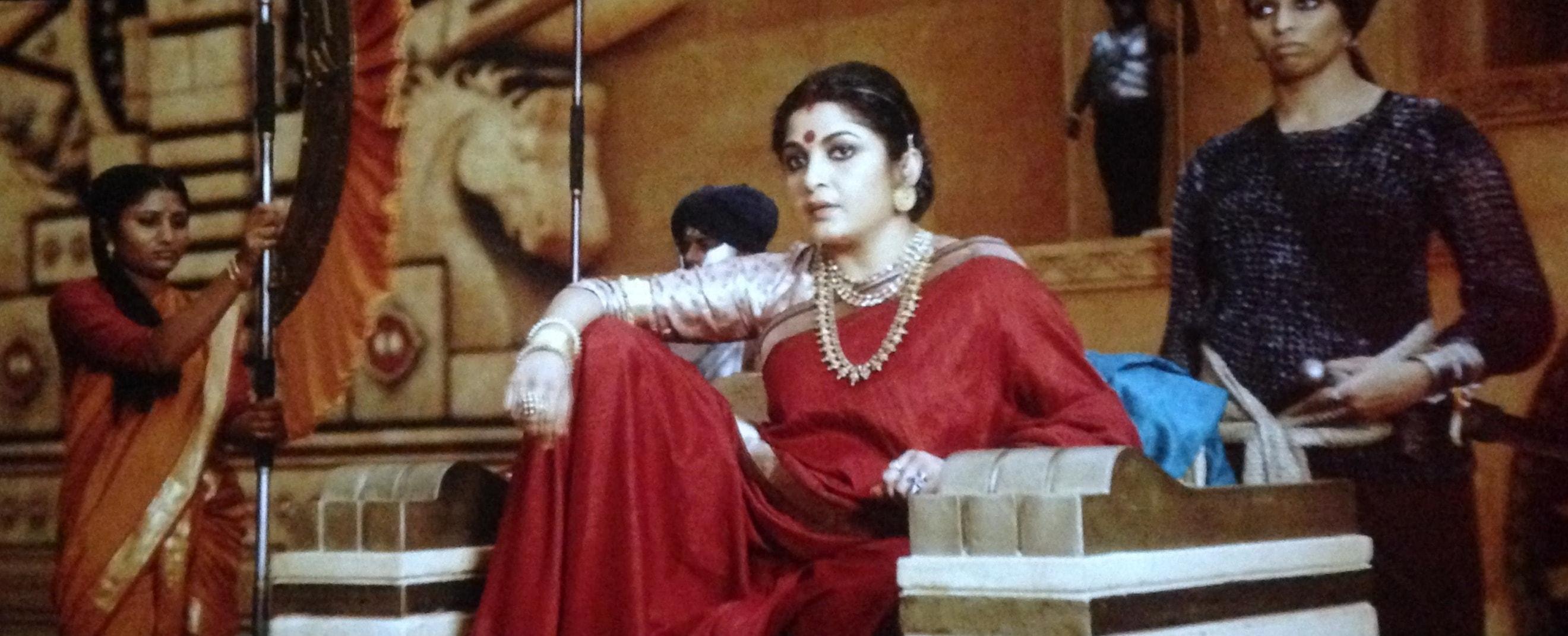 Ramya as Sivagami in Bahubali 2