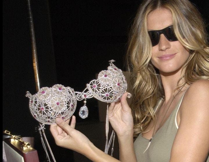fantasy bra, fantasy lingerie, victoria secret, diamomd bra, diamond lingeries, most expensive lingerie, most expensive bra, panty, 2 million bra, 10 million bra, innerwear, underwear