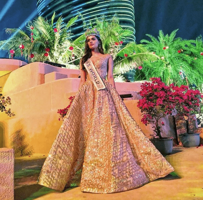 Manushi Chillar's Princess Moment