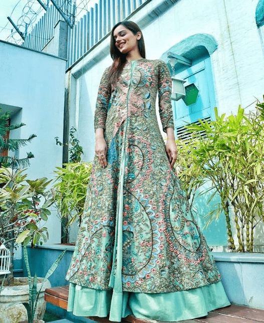 Manushi Chillar In Indian Outfit