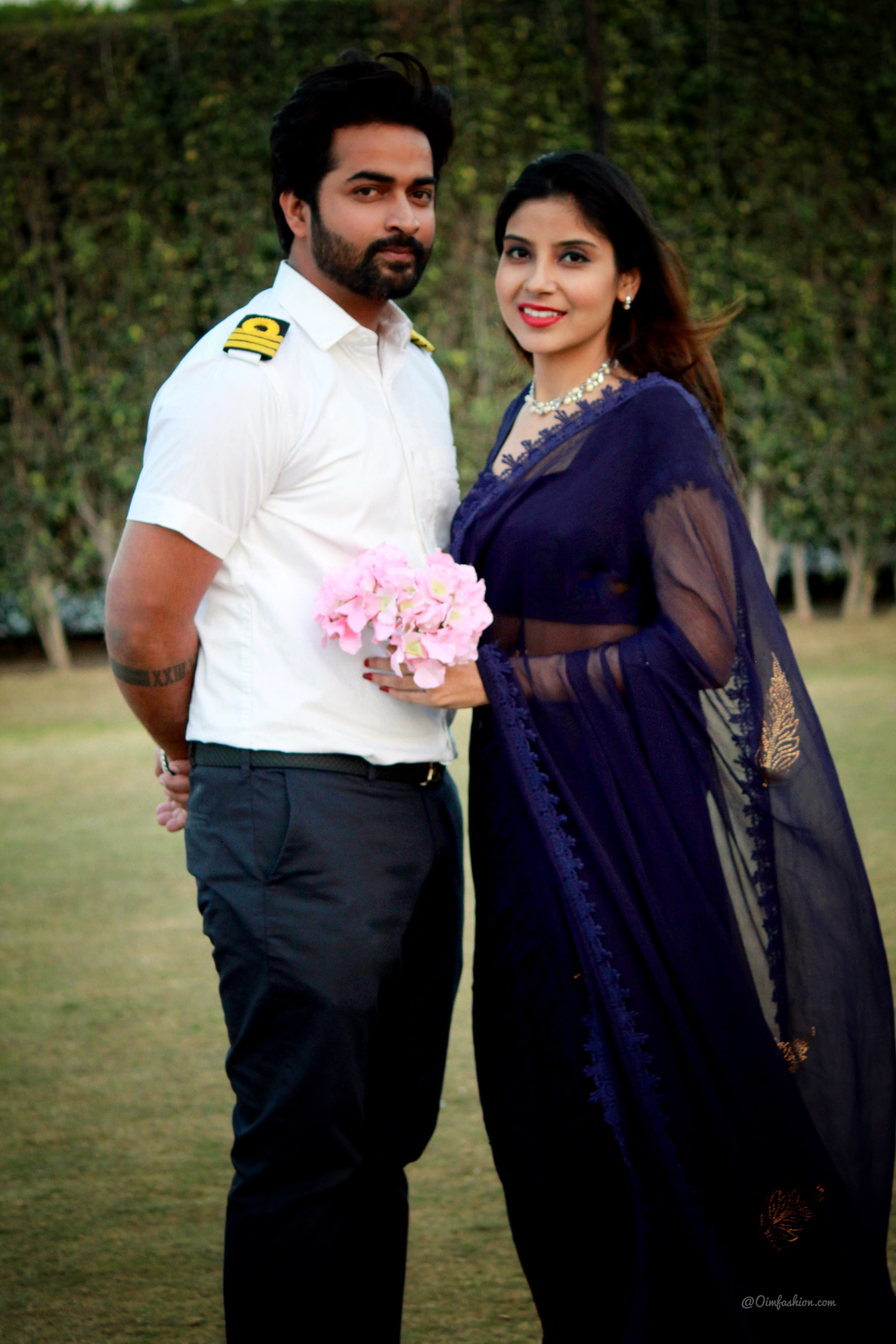 Prewedding Ideas, Sailors Wife, Sailor, Navy uniform, couple photoshoot, couple photo, royal photography, classy couples, What to wear in prewedding, Merchant Navy COuple