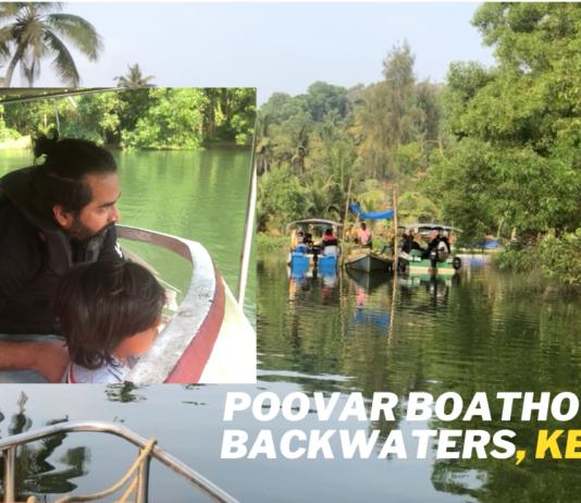Poovar island, Kerala backwaters